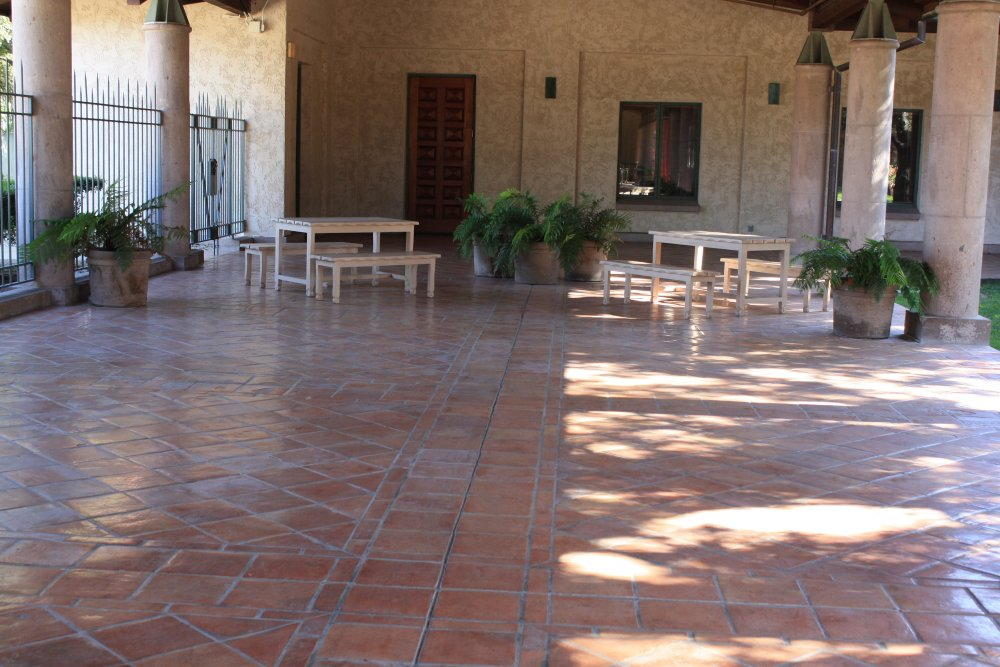 Saltillo Floor Tile Mexican Home Decor Gallery Mission Accesories