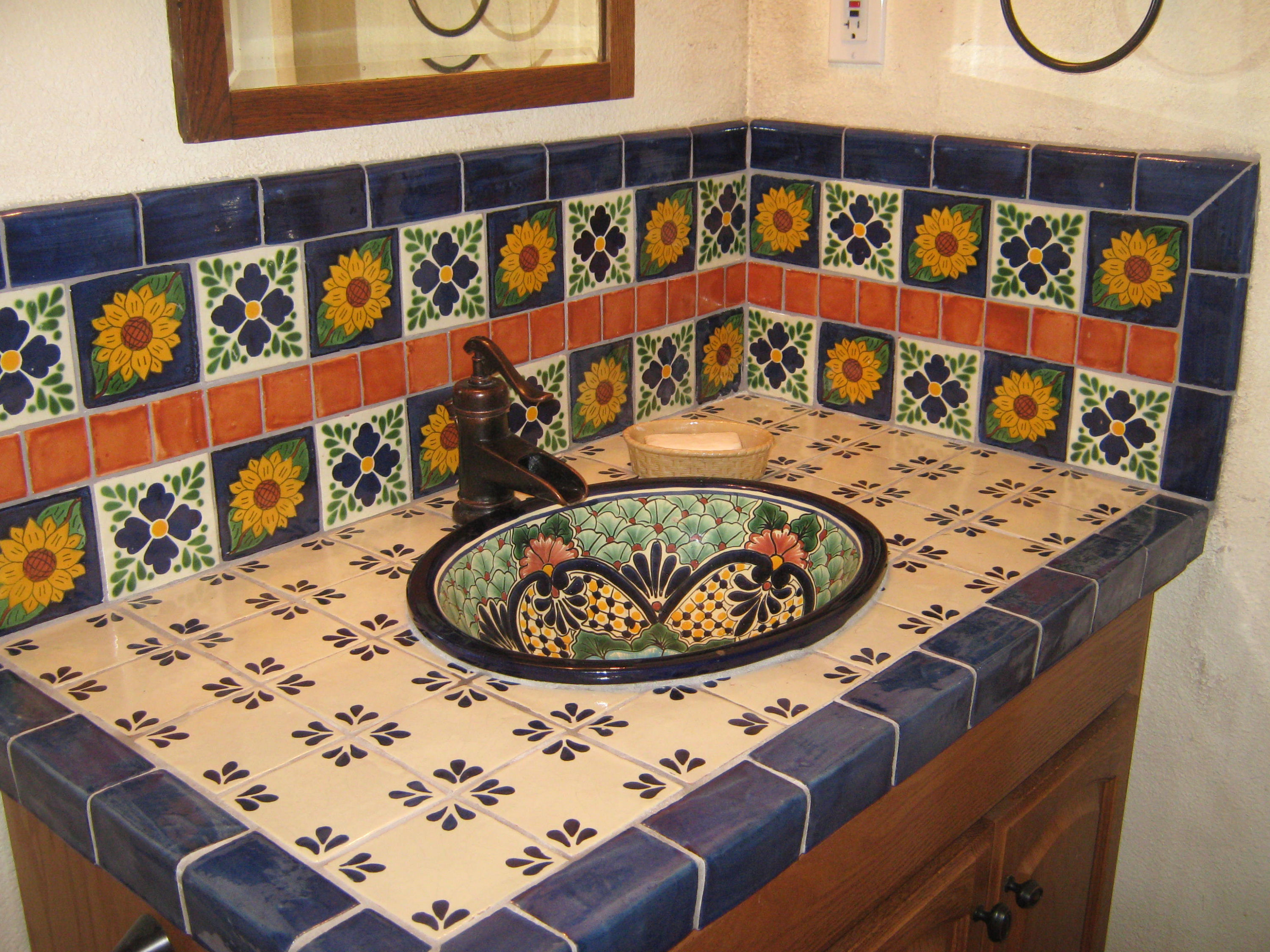 Bathroom Design Mexican Tile : Mexicans home decor art and crafts