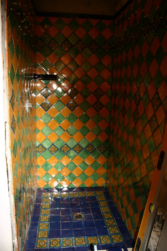 Bathroom Design Mexican Tile : Mexican tile in the shower home decor gallery