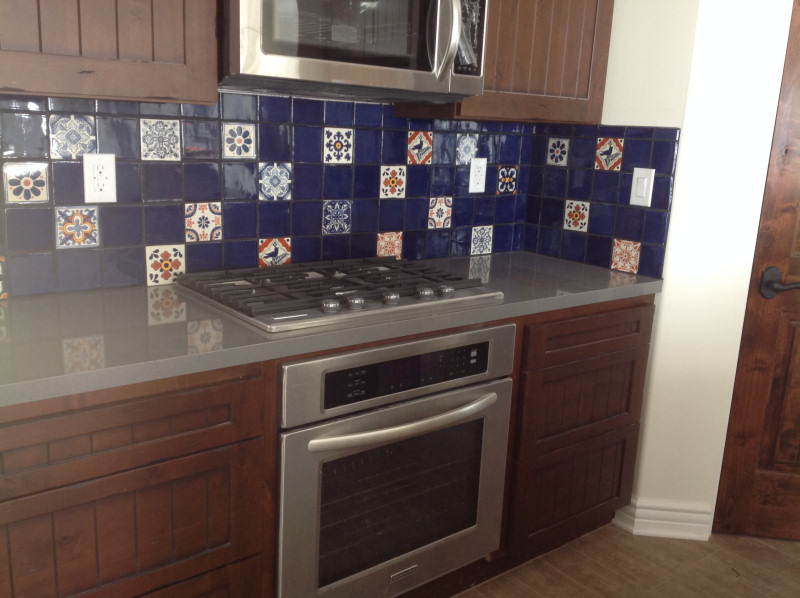 mexican tile in a kitchen backsplash mexican home decor