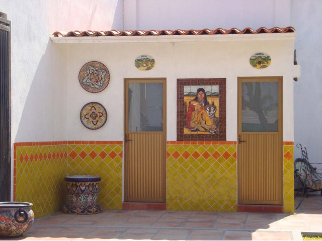 Mexican bathroom decor for Mexican home decorations
