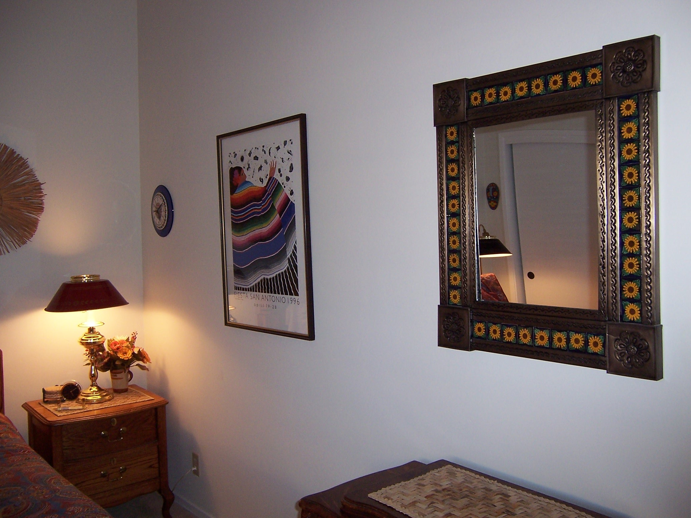 Talavera And Tin Mirror Mexican Home Decor Projects Gallery