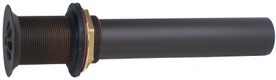 Oil Rubbed Bronze Bathroom Sink Drain MT749 ORB Close-Up