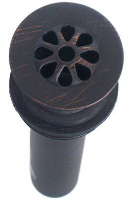 Venetian Bronze Bathroom Sink Drain MT749 VB