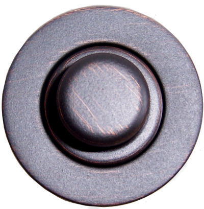 Venetian Bronze Bathroom Sink Drain MT760-VB Close-Up