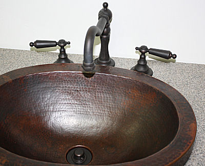 Victorian Oil Rubbed Bronze Bathroom Sink Faucet. F120G-UH-OC