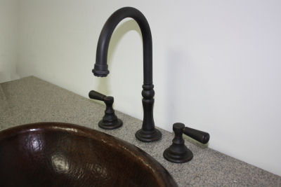 Goose Neck Oil Rubbed Bronze Bathroom Sink Faucet. F120GN F OB