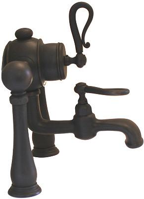 Oil Rubbed Bronze Deck Mount Bathtub Faucet   F335H ABOC Details