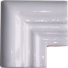 Pure White Chair Rail Corner Molding