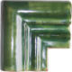 Green Chair Rail Corner Molding