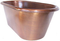 Terra Smooth Copper Tub
