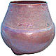 Arts & Crafts Chiseled Hammered Copper Vase