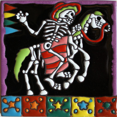 Day Of The Dead Tiles Tile Design Ideas