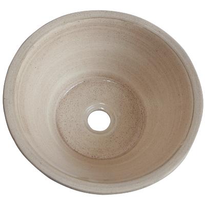Rioja Fango Ivory Ceramic Vessel Sink