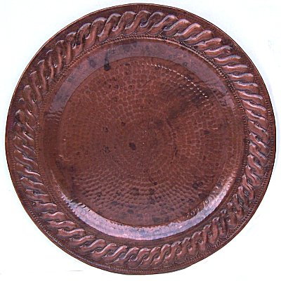 Morelia Hammered Copper Plate