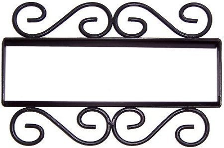 Iron Furniture - Metal Wall Art - Iron Beds - Shelf Brackets