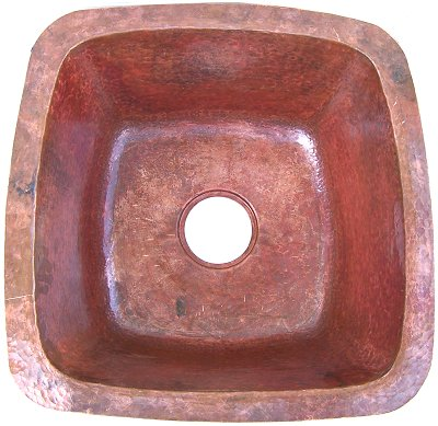 Copper Undermount Bar Sink P34