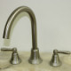 Garden Trellis Brushed Nickel Kitchen Sink Faucet