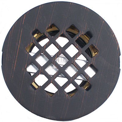Venetian Bronze Shower Grid MT237 VB