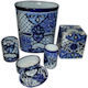 Traditional Talavera Ceramic Bathroom Set