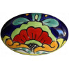 Oval Rainbow Talavera Ceramic Drawer Knob