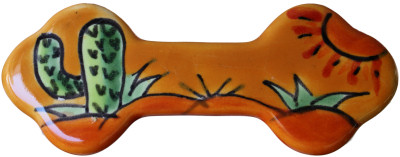 Desert Talavera Ceramic Drawer Pull