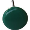 Round Green Talavera Ceramic Drawer Knob