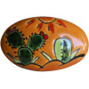 Oval Desert Talavera Ceramic Drawer Knob
