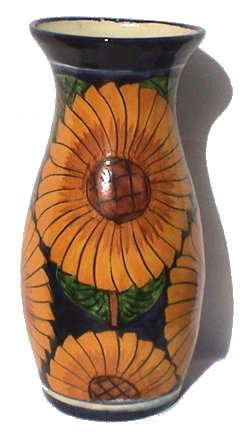 Yellow Round Sweater Vase with White Dahlia Flower review   buy