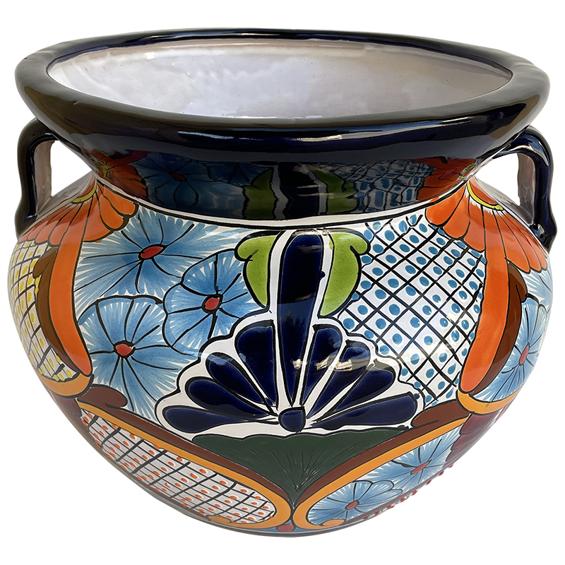 Desert Talavera Ceramic Pot