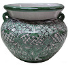 Green Deco Talavera Ceramic Pot