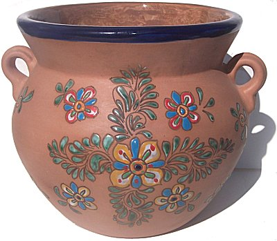 Flower Terracota Ceramic Pot