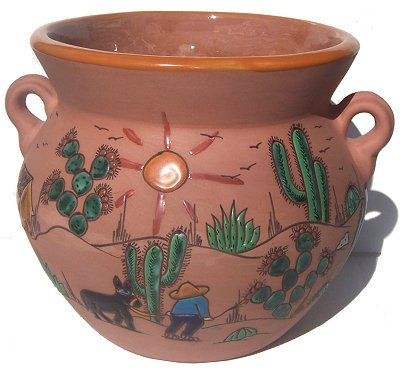 Desert Terracota Ceramic Pot