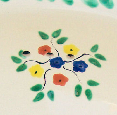 Big Bouquet Talavera Ceramic Sink Close-Up