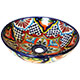Azalea Ceramic Talavera Mexican Vessel Sink