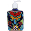 Big Rainbow Talavera Soap Container