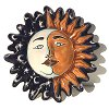 Moon Small Talavera Ceramic Sun Face