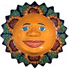 Sunflower Talavera Ceramic Big Sun Face