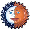 Eclipse Talavera Ceramic Big Sun Face