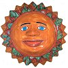 Desert Talavera Ceramic Big Sun Face