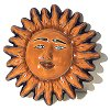 Small Talavera Ceramic Sun Face