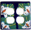 Lily Talavera Double Outlet Switch Plate