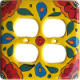 Canary Talavera Double Outlet Switch Plate