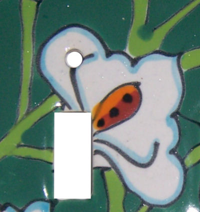 Lily Talavera Triple Toggle Switch Plate Close-Up