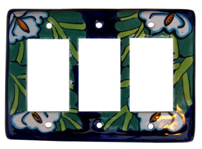 Lily Talavera Triple Decora Switch Plate