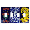 Marigold Talavera Quadruple Switch Plate