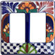 Double Decora Mantel Talavera Switch Plate