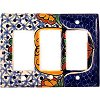 Triple Decora Turtle Talavera Switch Plate