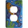 Aqua Fish Talavera Ceramic Switch Outlet