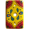 Canary Talavera TV Cable Plate